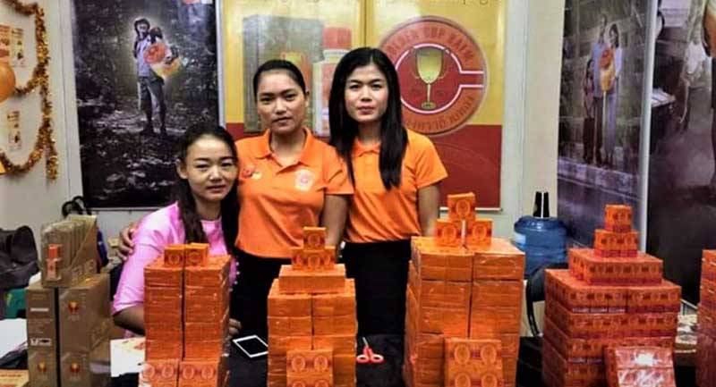 yangon expo and thai products fair 2019 at tatmataw hall