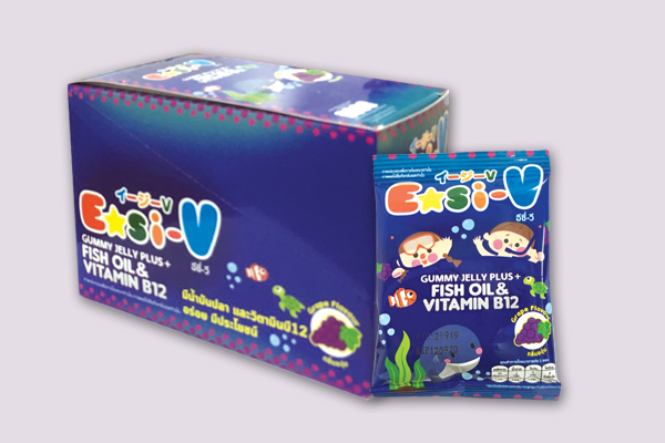 Easi-V Gummy (Fish Oil & Vitamin B12)